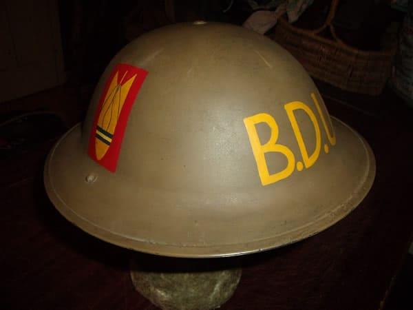 British Militaria Helmets