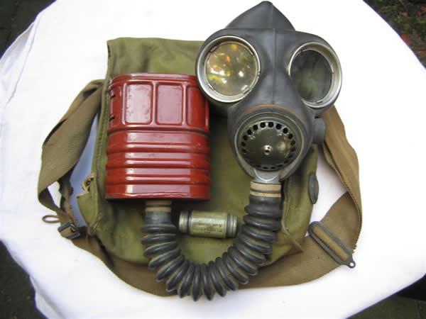 British Militaria Anti Gas Kit